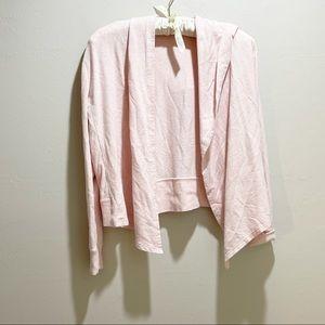 CALIA EFFORTLESS COZY CARDIGAN in Pink
